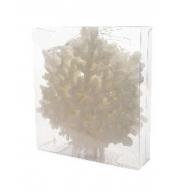 Набор елочных украшений Снежинка, 10см пластик, 8шт